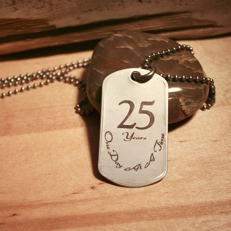 ANNIVERSRY DOG TAG