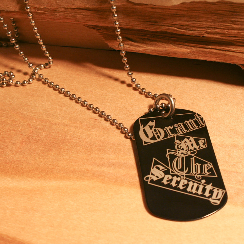 BLACK DOG TAG
