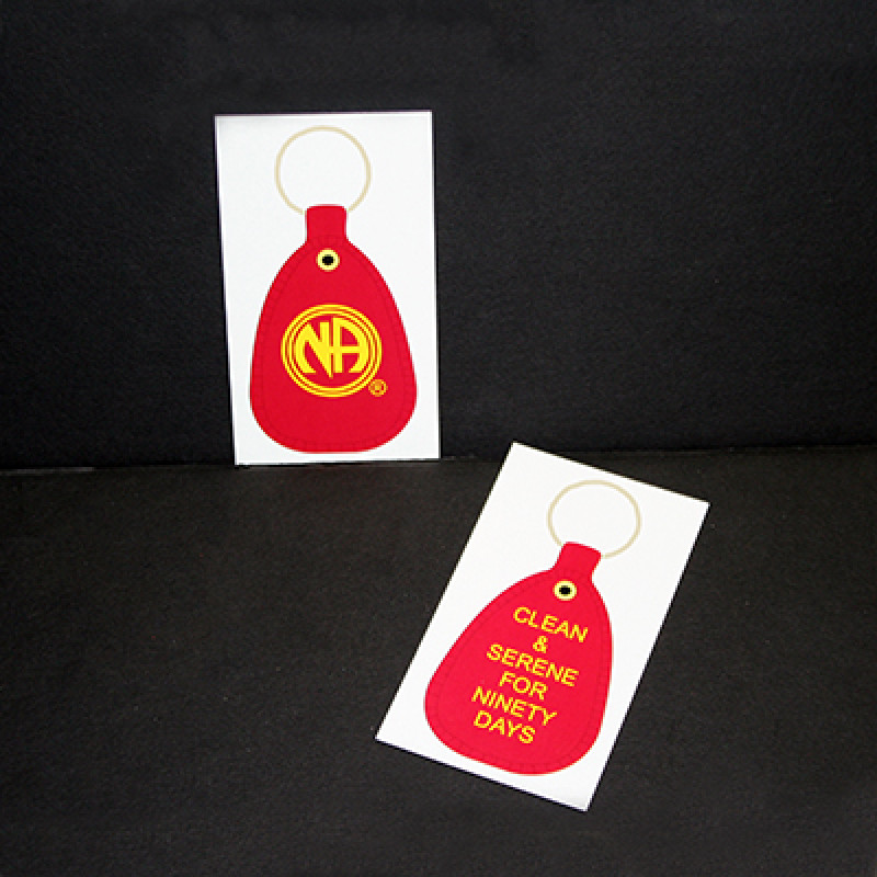 20PK  90 DAY RED H&I KEYTAGS