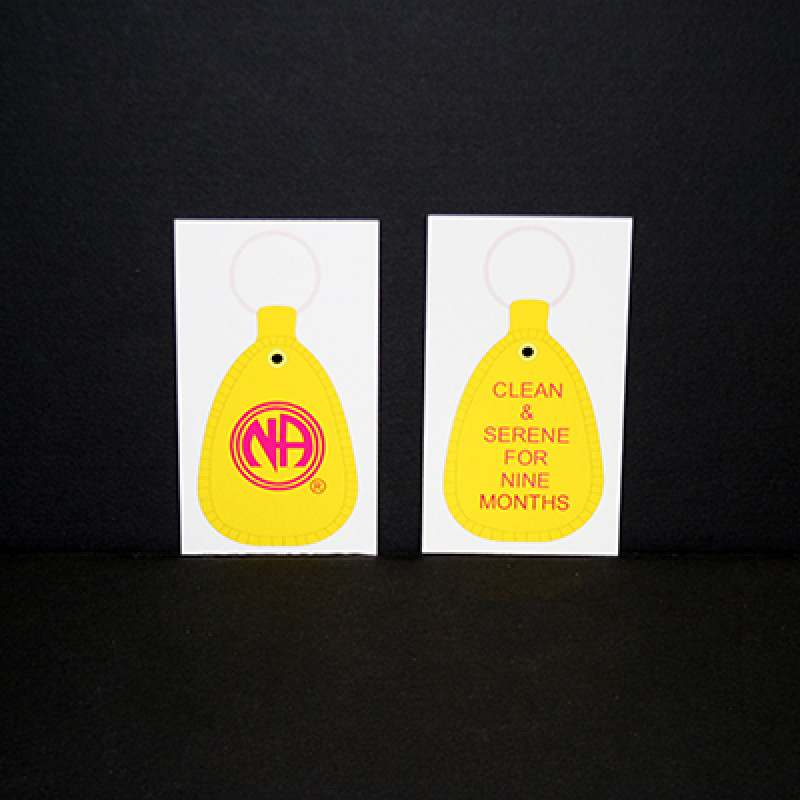 20PK 9 MOS. YELLOW H&I KEYTAGS