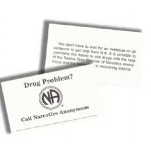 OVER DOSE OR JAIL WALLET CARDS