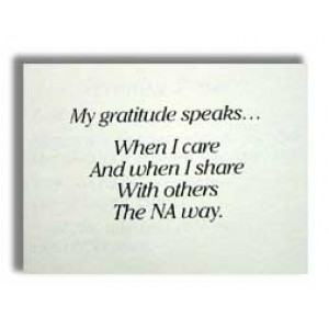 MY GRATITUDE SPEAKS