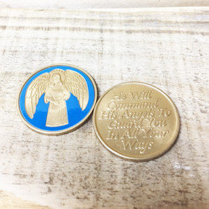 GUARDIAN ANGEL TRI MEDALLION